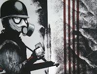 Antoni Miró obra gráfica denuncia social El dólar