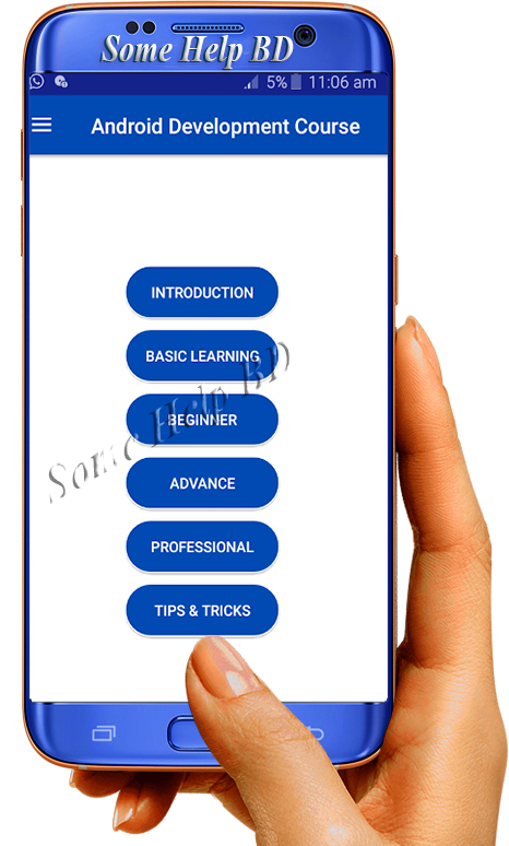 Learn Android App Development very easy download software - Some Help BD