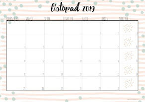 Planner na listopad