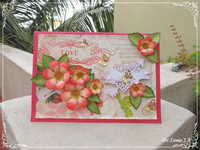 Cards crafts kids projects simple handmade flowers card simple handmade flowers card thecheapjerseys Gallery