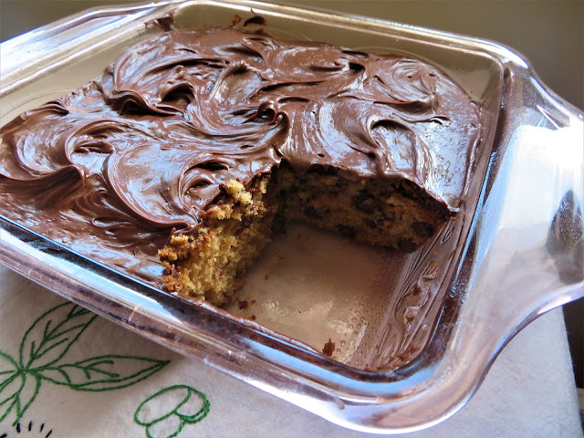 Chocolate Chip Snack Cake