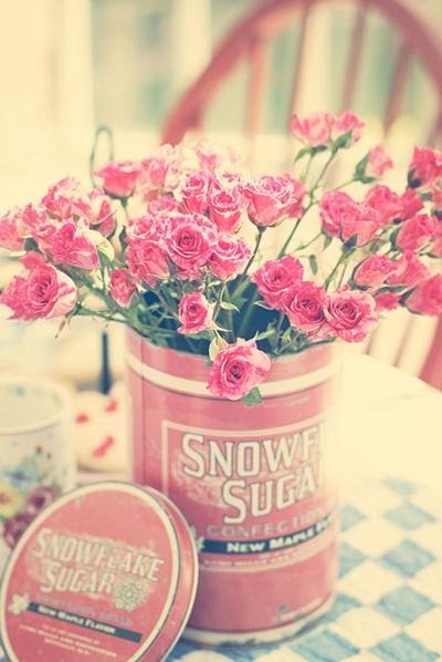 Bunga+kaleng sudah memiliki keindahan tersendiri