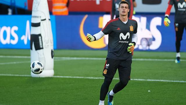 Penjaga gawang muda Spanyol  Kepa Arizzabalaga telah resmi mendatangani kontrak tujuh tahun bersama Chelsea