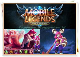 Tips dan Trik Item Build dan Belajar Main Nana Mobile Legends