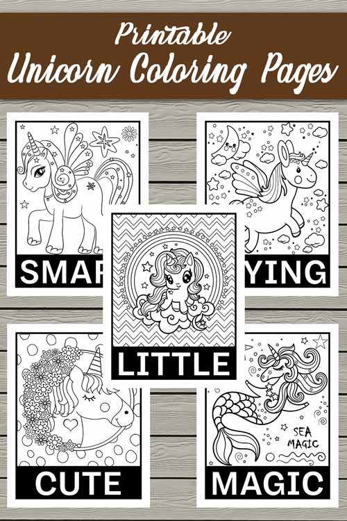 unicorn coloring pages, coloring pages for kids, coloring pages printable, coloring pages for girls