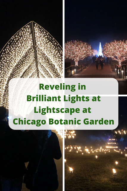 Reveling in Brilliant Lights at Lightscape at Chicago Botanic Garden