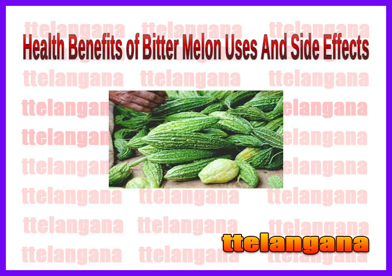 Health Benefits of Bitter Melon Uses And Side Effects