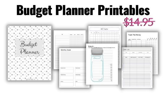 Printable budget planner for moms