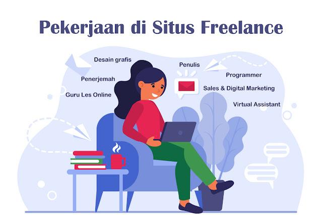 Pekerjaan di Situs Freelance