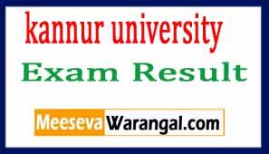 Kannur University MBBS  Exam Result 2017
