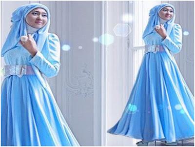 Contoh Gambar Busana Muslim Dian Pelangi Terbaru