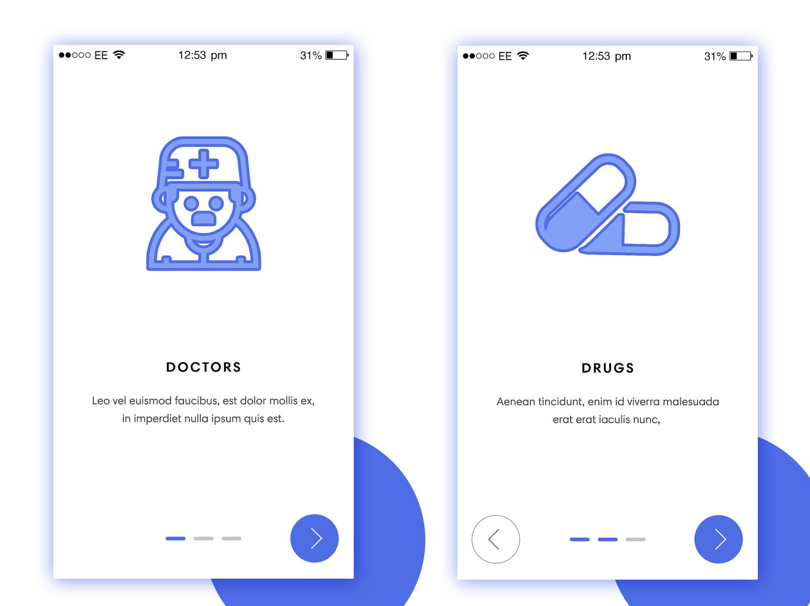 Doctor App UX/UI Design