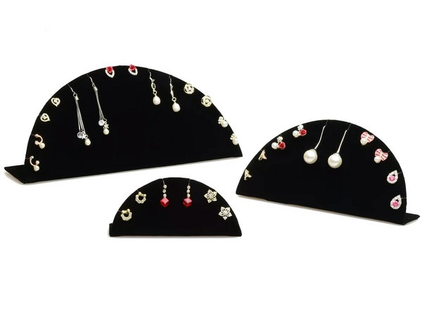 Earring Displays Half Moon Stand from Nile Corp