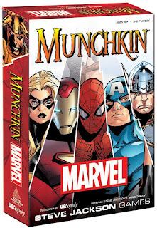 Munchkin Marvel Edition board game
