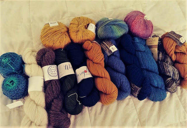 worsted weight yarns for knitting