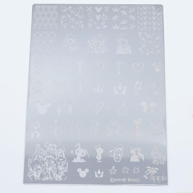 Apipila Cosméticos Kingdom Hearts Stamping plate