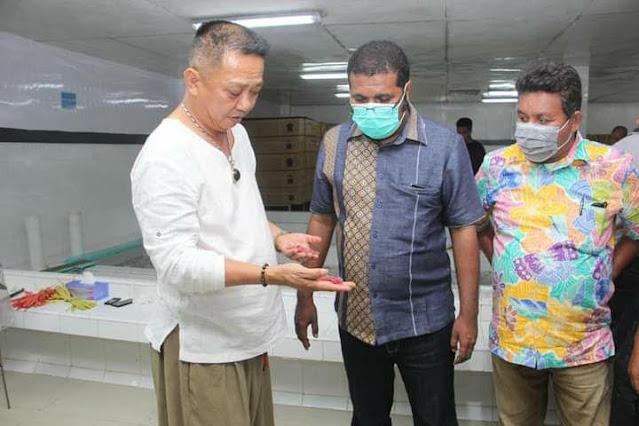 Herry Ario Naap Penjajakan Bersama Exportir Ikan Tuna di Ambon