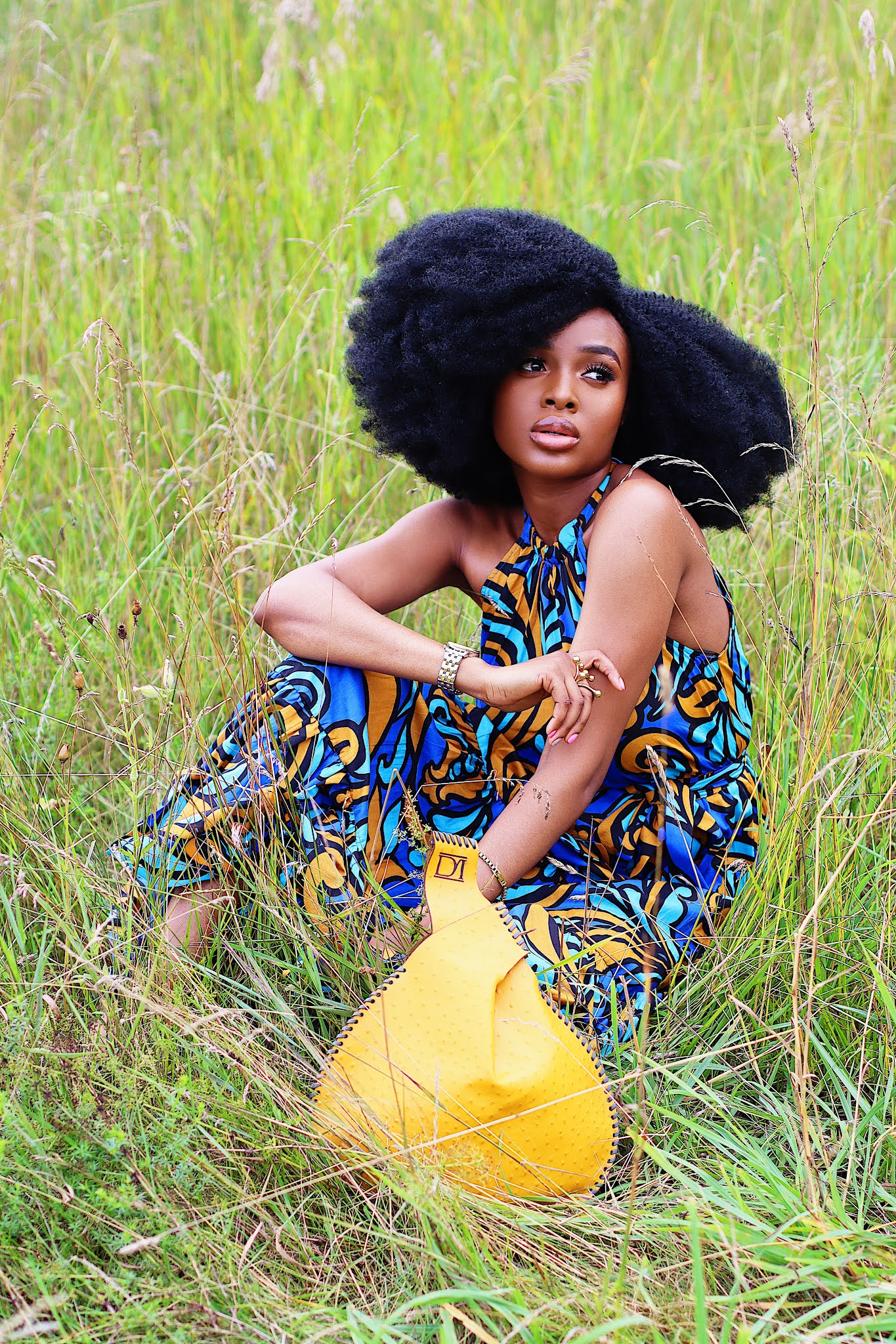 Nature fashion editorial