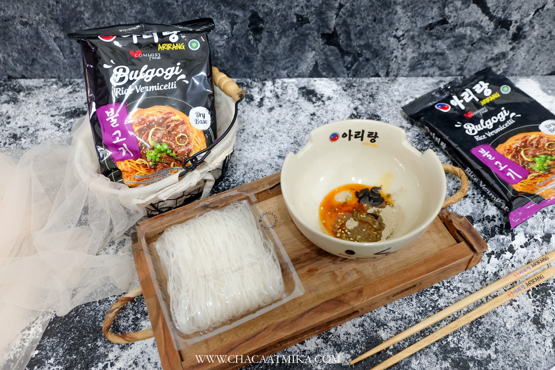 Review Arirang Bulgogi Rice Vermicelli