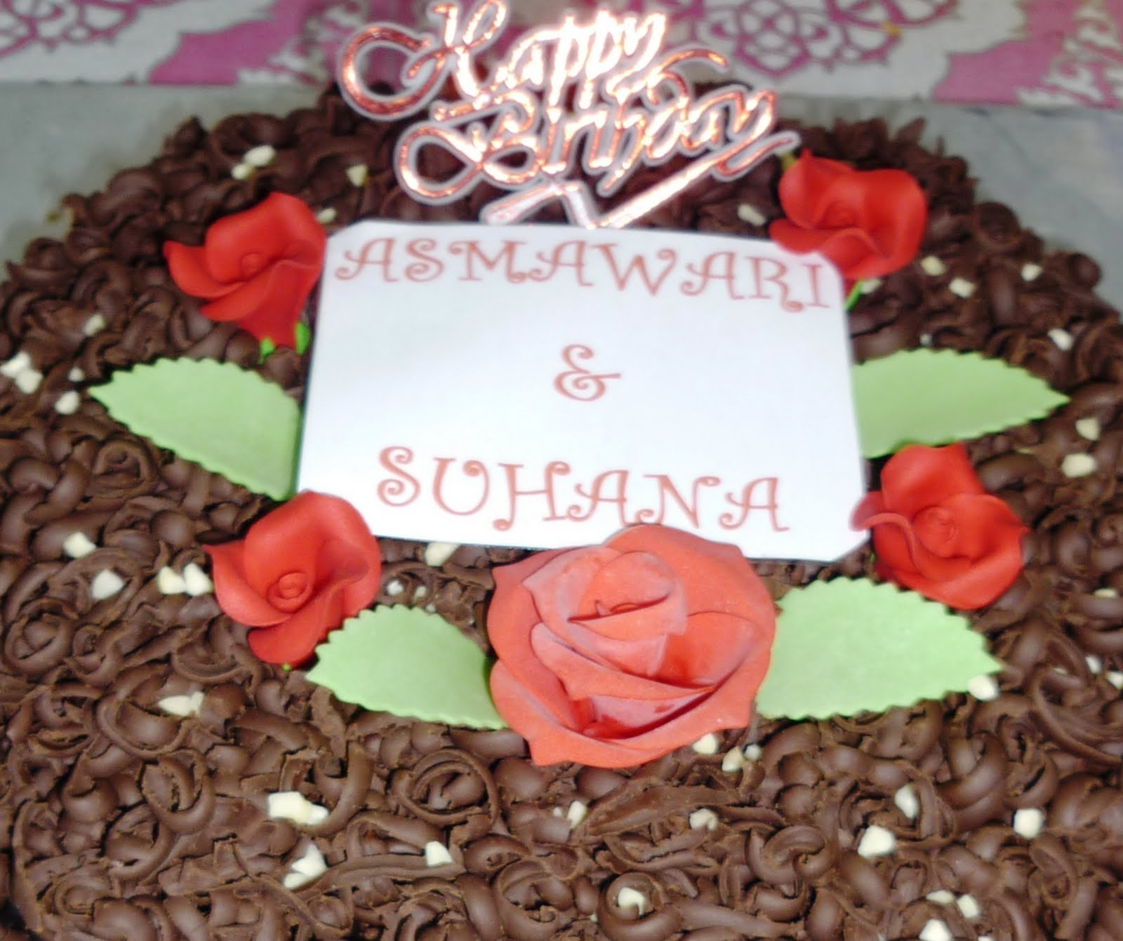 Cake House Happy B Day Suhana Asma