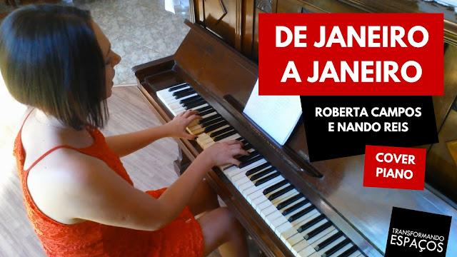 De janeiro a janeiro - Roberta Campos e Nando Reis | Piano Cover - Edeltraut Lüdtke