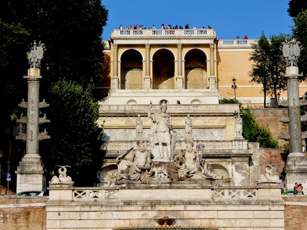 Rome: Piazza del Popolo e Piazza di Spagna