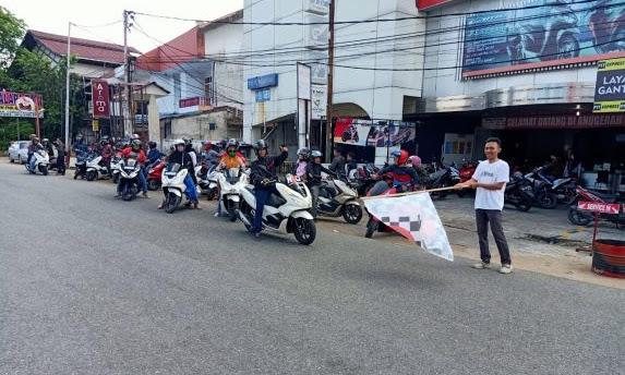 Berbagi Kebaikan di Bulan Suci Ramadan Bersama PCX Charity Ride