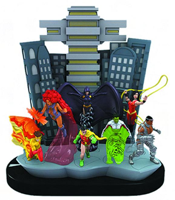 Free Comic Book Day Heroclix: BENT WOOKEE COMIX: DC TEEN TITANS HEROCLIX ARRIVE TODAY