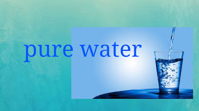 Nanotechnology use for pure water