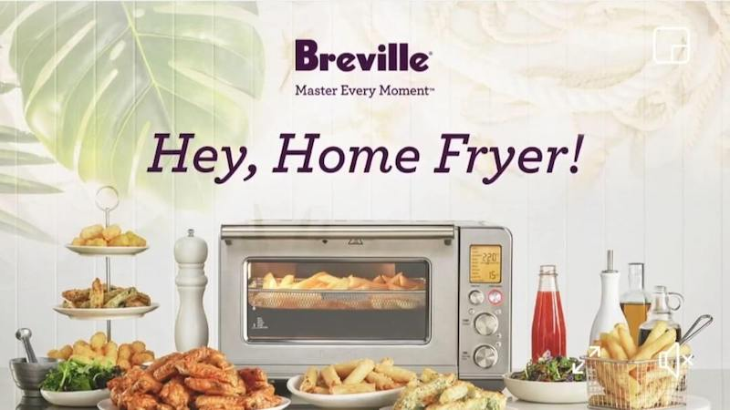 """Breville Philippines showcased the features of Smart Oven Air Fryer at """"Hey, Home Fryer!"""" event"""
