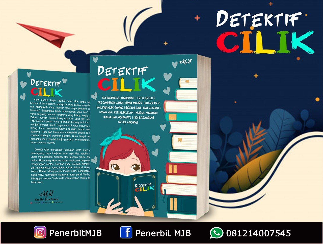 Review Buku Detektif Cilik Moms Institute