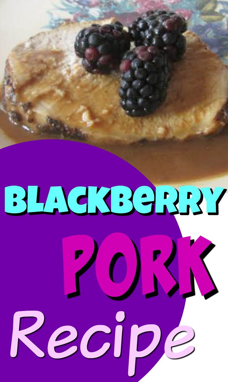 Blackberry Pork Chops Tenderloin