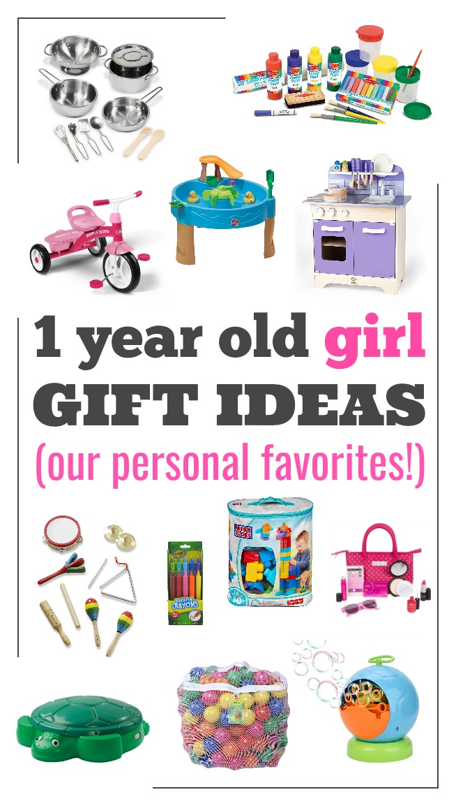 Gift Ideas For One Year Baby Girl
