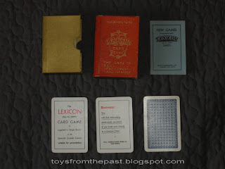 Th Century Card Game  Letters