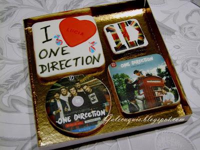 Galletas One Direction