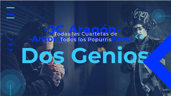 EL POPURRI ETERNO: Mezcla de TODAS las cuartetas de TODAS las Comparsas de Jc Aragón y Martínez Ares