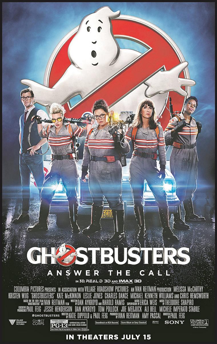 Crum on Showbiz: New u2018Ghostbustersu2019 is outright fun comedy ...