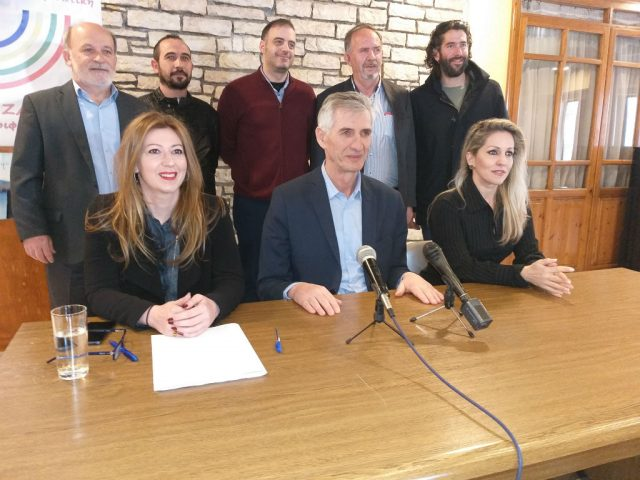 Θεσπρωτία: Ο Γιώργος Ζάψας Παρουσίασε Τους Πρώτους Υποψήφιους Στην Π.Ε Θεσπρωτίας