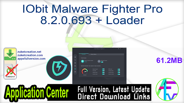 IObit Malware Fighter Pro 8.2.0.693 + Loader