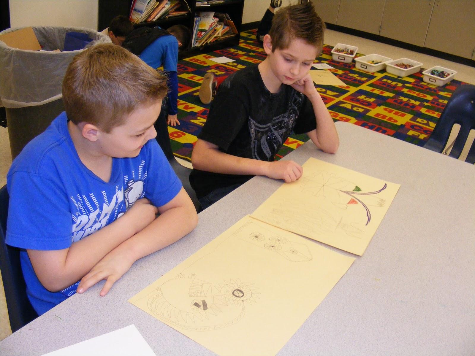 Suffield Elementary Art Blog Art Critique 5th Grade Style