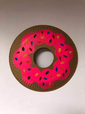 DIY-Basteltipp für eine Donut-Girlande aus Papptellern von Ars Vera