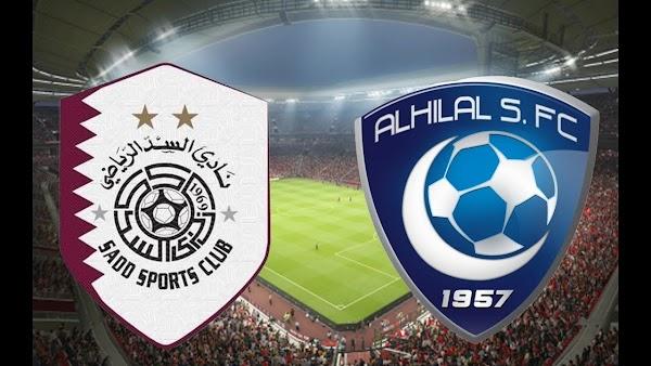 نتيجة واهداف مباراة الهلال والسد بث مباشر 1-10-2019 نصف نهائي ابطال اسيا