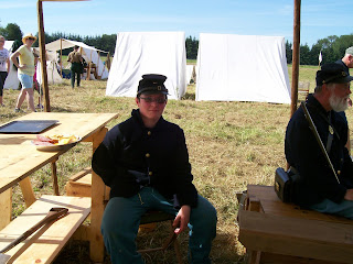 WCWA Snoqualmie Reenactment 2016 4th US Soldiers