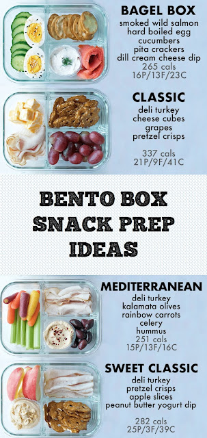 BENTO BOX SNACK PREP IDEAS