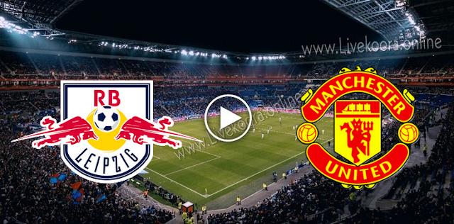 موعد مباراة لايبزيغ ومانشستر يونايتد بث مباشر بتاريخ 08-12-2020 دوري أبطال أوروبا