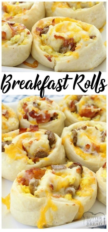 Breakfast Rolls ingredients
