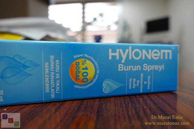 Hylonem Burun Spreyi - Burun Nemlendirici - Burun Kuruluğu Tedavisi İçin İlaç - Burun Nemlendirici İlaç