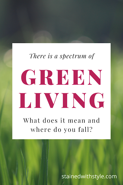 pinnable image about the spectrum of green living