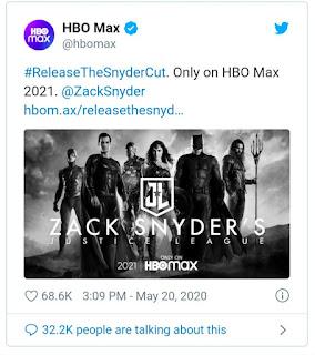 NOVA VERSÃO DE A LIGA DA JUSTIÇA CHEGA A HBO MAX!