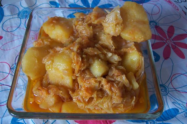 Recetas de col verde con patatas
